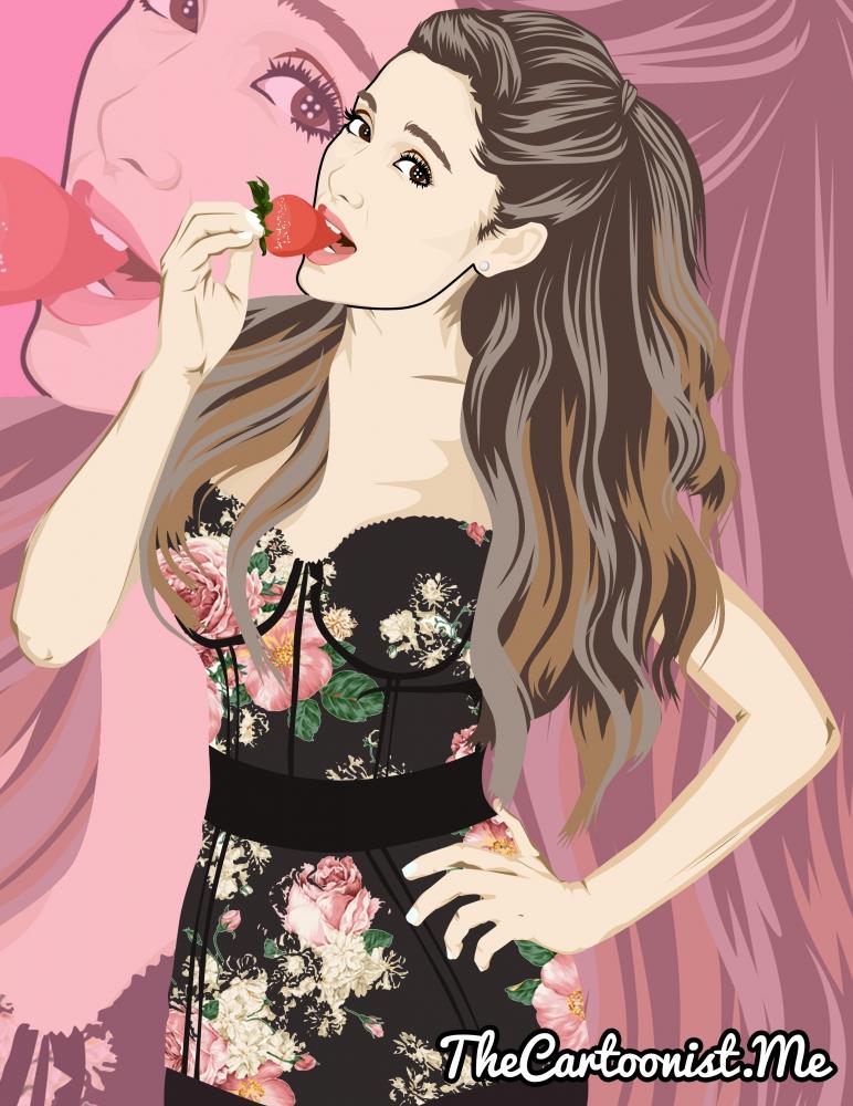 Ariana Grande par TheCartoonist